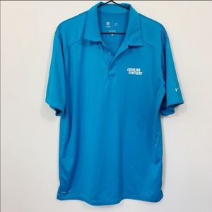 Nike NFL Carolina Panthers Polo Shirt